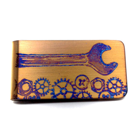 Trades Money Clip