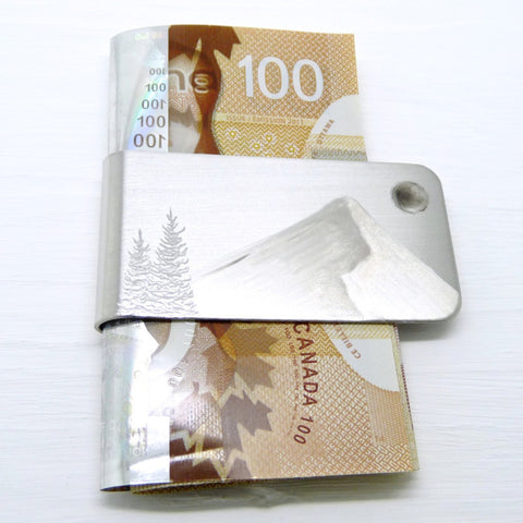 SILVER MOUNTAIN Money Clip