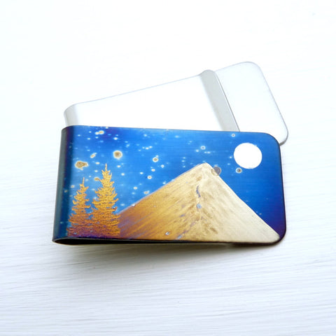A NIGHT in the MOUNTAINS Money Clip