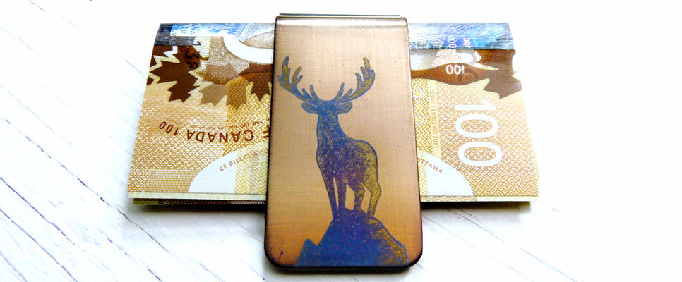ANIMAL MONEY CLIP