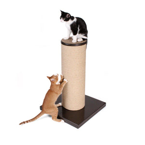 Hauspanther Max Cat Scratching Post (Espresso)