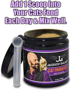 Jackson Galaxy Cat Probiotics with Enzymes