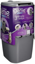 Load image into Gallery viewer, Litter Genie Plus Ultimate Cat Litter Odor Control Pail - Silver