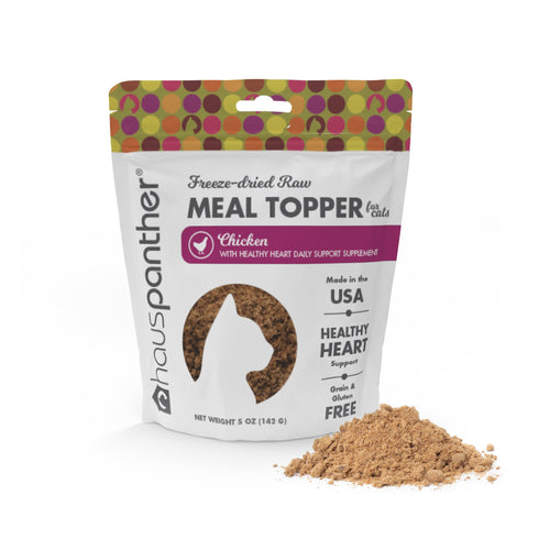 Chicken Freeze-dried Raw Meal Topper for Cats