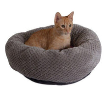 Load image into Gallery viewer, Comfy Cuddle Up - Donut Cat Bed