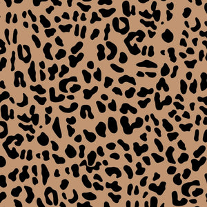 the leopard print used on the face mask - leopard print