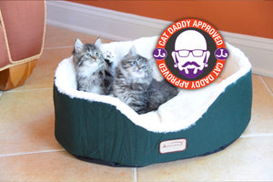 Armarkat Forest Green Cat Bed