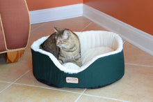 Load image into Gallery viewer, Armarkat Forest Green Cat Bed