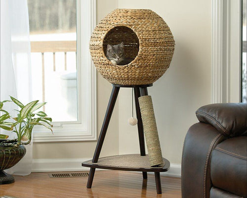 Sauder Natural Sphere Cat Tower