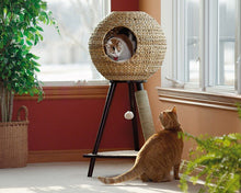 Load image into Gallery viewer, Sauder Natural Sphere Cat Tower