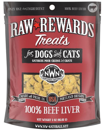 Northwest Naturals Freeze Dried Treats Beef Liver 3oz