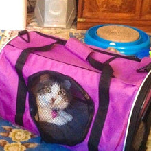 Load image into Gallery viewer, Base Camp Combo: Pet Carrier & Mesh Cat Crawl