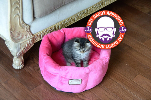 Armarkat Pink Luxe Cat Bed (C03CZH)