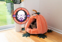 Load image into Gallery viewer, Armarkat Pumpkin Harvest Cat Bed (C85CCS)