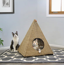 Load image into Gallery viewer, Sauder Pyramid Cat Nester