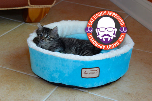 Armarkat Robin's Egg Blue Nest Cat Bed (C12HTL/MB)