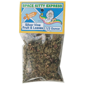 Space Kitty Express Silver Vine Fruit & Leaves