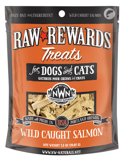 Northwest Naturals Freeze Dried Cat Treats - Wild Caught Salmon 2.5oz