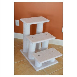 Armarkat Classic Pet Stairs, Ivory (B3001)