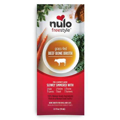 Nulo FreeStyle Bone Broth Grass-Fed Beef Packet 2oz