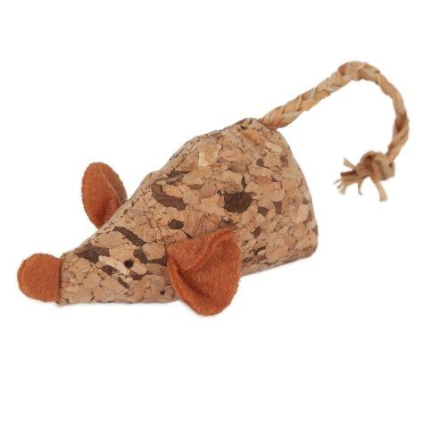 Natural Cork Toys - Mouse