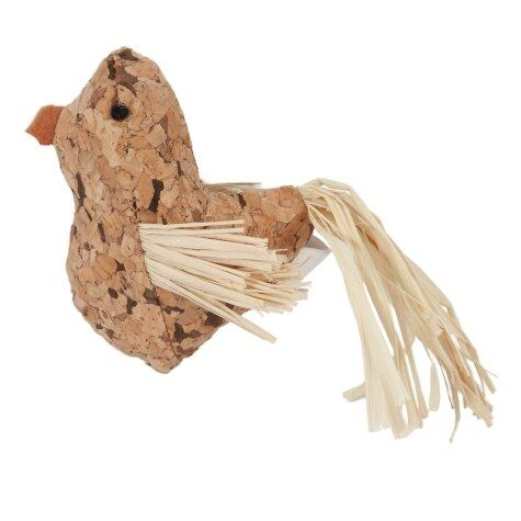 Natural Cork Toys - Bird