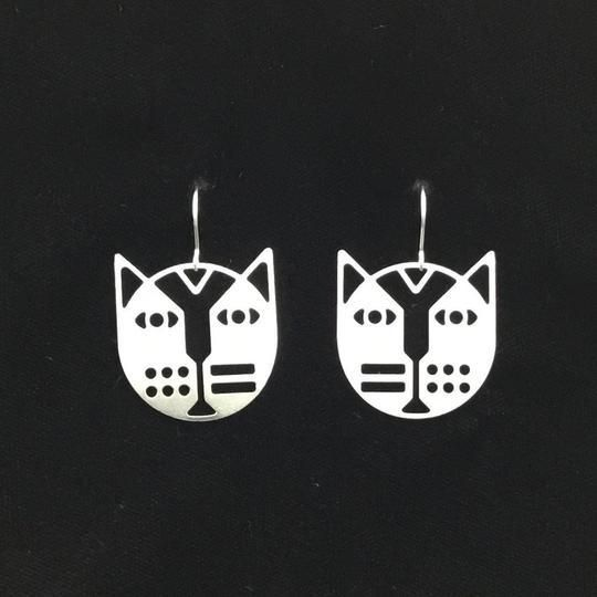 Cat Earrings by Cat Modern -