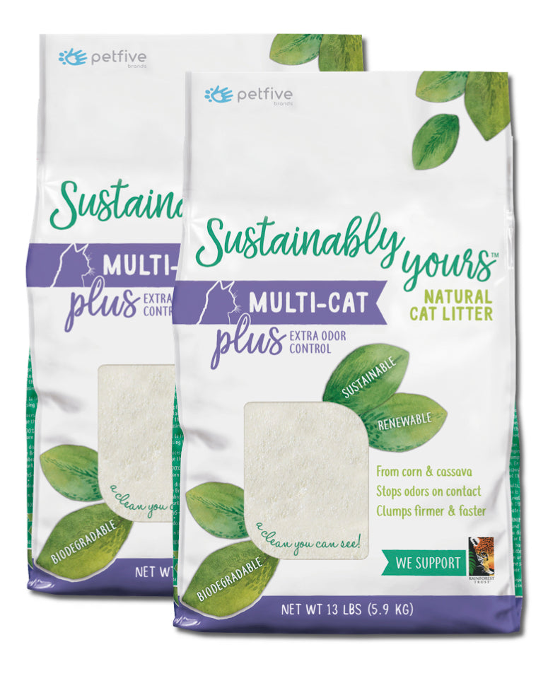 Sustainably Yours Natural Cat Litter - 26 lbs