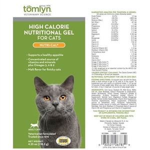 Tomlyn High Calorie Nutritional Gel-Nutri-Cal for Cats