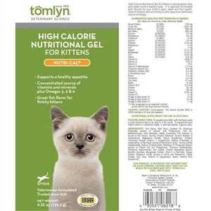 Tomlyn High Calorie Nutritional Gel-Nutri-Cal for Kittens