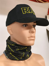 Load image into Gallery viewer, Face Mask/Snood/Neck Warmer - FMS-RRE-BKY