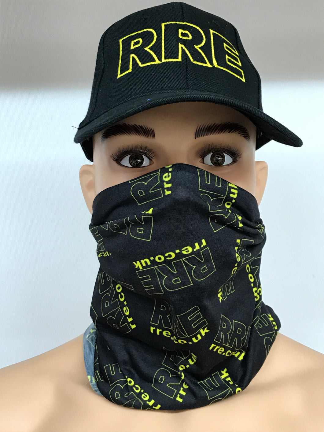 Face Mask/Snood/Neck Warmer - FMS-RRE-BKY