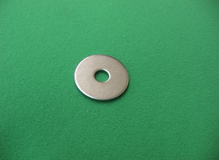 Mudguard Washer 25mm Dia, 6mm Bore - M06MGW