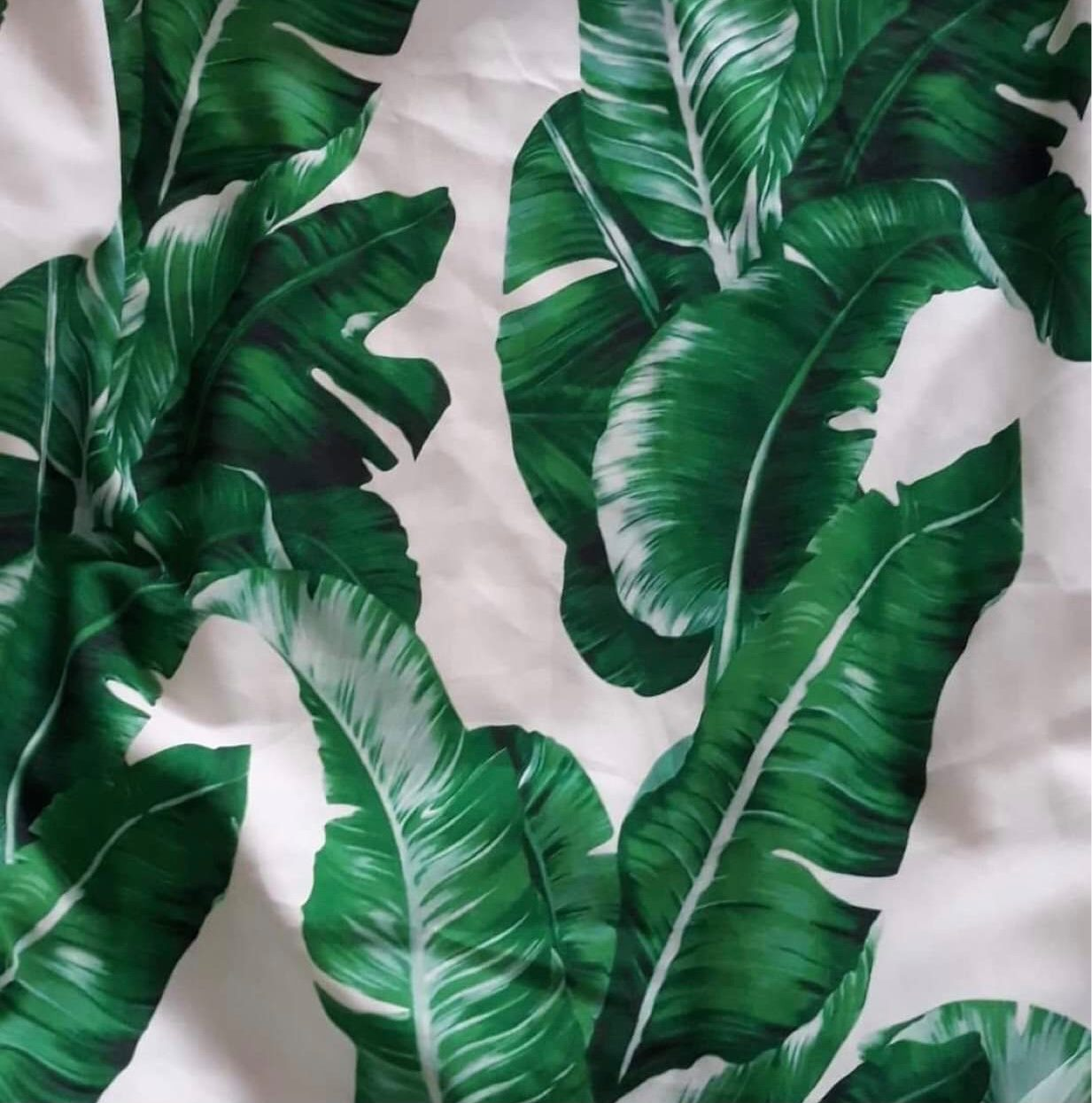 Fabric in Tropical - Shop women style vintage, Audrey Hepburn jackets online -Christine