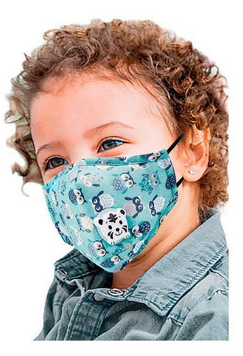 Kids masks cover printed fun Cotton handmade  2-12 yrs old - Shop women apparel, face masks, Jumpsuits, Ladies jackets online - Style with Christine