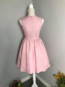 Audrey Dress in Powder Pink cotton size S - Shop women style vintage, Audrey Hepburn jackets online -Christine