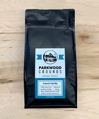 Parkwood Grounds Coffee, French Vanilla