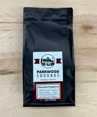 Parkwood Grounds Coffee, Chocolate Raspberry