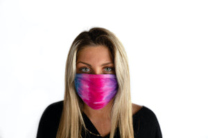 Face Mask - Tie Dye - Pretty in Pink