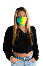 Load image into Gallery viewer, Face Mask - Tie Dye - Rainbow
