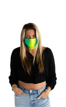 Load image into Gallery viewer, Face Mask - Tie Dye - Emerald City