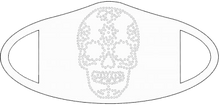 Load image into Gallery viewer, Face Mask - Candy Skull
