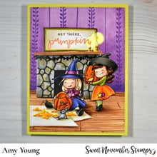 Load image into Gallery viewer, Clear Stamp Set - Witchwees: A Little Hello-ween