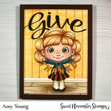 Load image into Gallery viewer, Digital Stamp - Sentiment Pack:  Give & Thanks 3 pack
