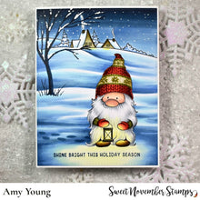 Load image into Gallery viewer, Digital Stamp - Gnome Home: Holiday scene builder set