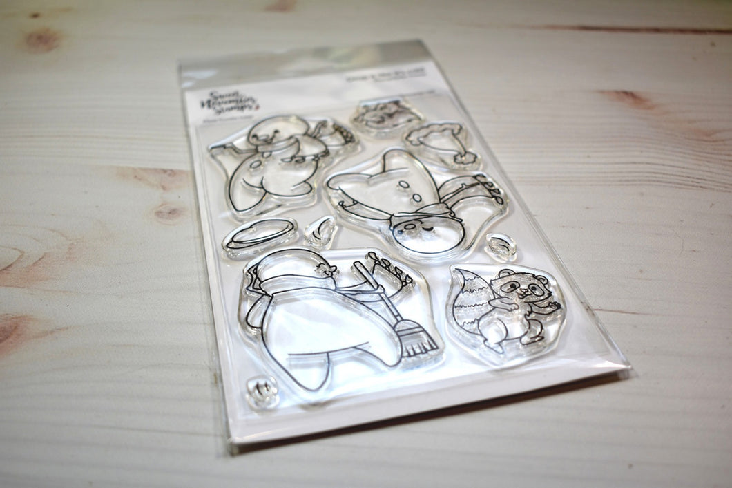 Clear Stamp Set - Drop it like it's cold
