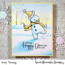 Load image into Gallery viewer, Digital Stamp - Snowmen Sentiment Set