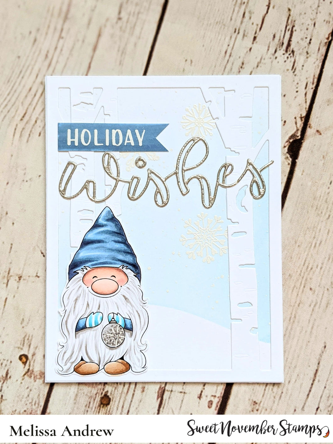 Digital Stamp - Gnome for the Holidays: Gnewton