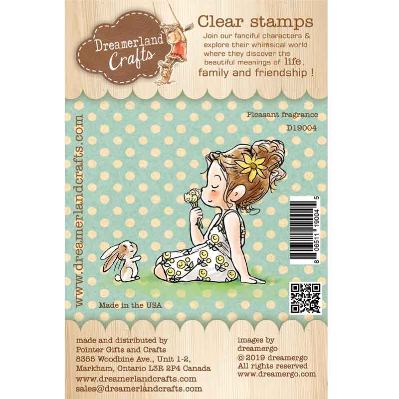 Clear Stamp - Dreamerland Crafts: Pleasant Fragrance