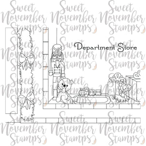 Digital Stamp: Scene Builder - The Department Store